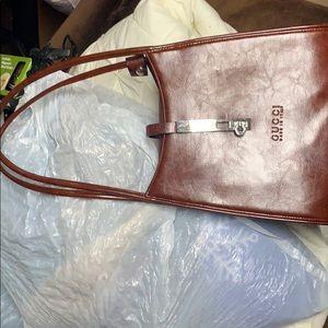 Gucci purse all leather